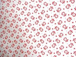 Látka biela červené srdcia 70ccae38762