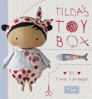 Tilda kniha Tildas Toy Box